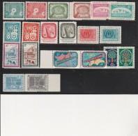NATIONS UNIES ( NEW YORK ) N° 62 A 81 - NEUFS XX   ANNEE 1958-1960 - Neufs