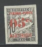 "Martinique YT 23 "" Taxe Surch. 05c. S 10c. Noir "" 1891-92 Neuf* - Unused Stamps"