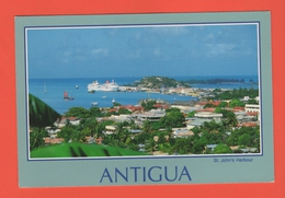 C-P-A- Amérique - Antilles - Antigua,West Indies -Cruis Ships At Dock In The Beautiful Harbour Of St John's. - Antigua & Barbuda
