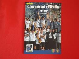 Italia Folder 2010 Inter Campione D´ Italia Catalogo 2012 € 30,00 Prezzo Copertina € 20 - 6. 1946-.. Repubblica