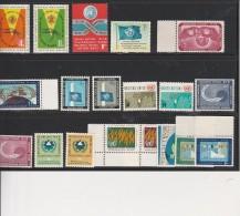 NATIONS UNIES ( NEW YORK ) N° 98 A 116 - NEUFS XX   ANNEE 1962 A 1963 - New-York - Siège De L'ONU