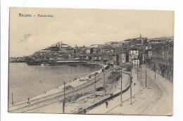 ANCONA PANORAMA VIAGGIATA FP 1913 - Ancona