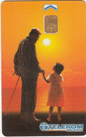 MALAYSIA(chip) - Father & Daugther, Telecom Malaysia Telecard RM10, Used - Malaysia