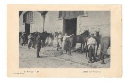 (9539-22) Dinan - Le Pansage - 24e Dragons - Régiments