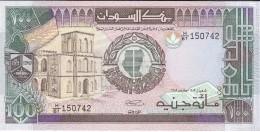 BILLETE DE SUDAN DE 100 POUNDS DEL AÑO 1989 (BANKNOTE) SIN CIRCULAR-UNCIRCULATED - Sudan