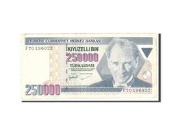 Turquie, 250,000 Lira, 1970, 1998, KM:211, TB - Turquie