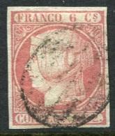 Edifil 12 Usado, Muy Bonito - 1850-68 Kingdom: Isabella II