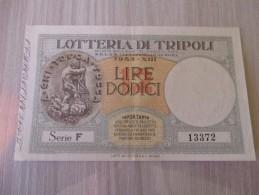 Lotteria Automobilistica Di Tripoli 1935