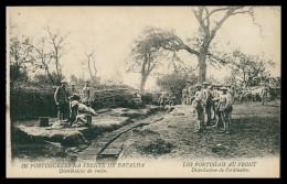 PORTUGAL«1ª GUERRA MUNDIAL»- Portuguezes Na Frente Da Batalha- Distribuição De Ração(Ed. Levy Fils & Cª) Carte Postale - Guerra 1914-18