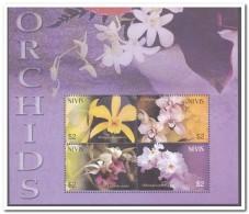 Nevis 2003, Postfris MNH, Flowers, Orchids - St.Kitts En Nevis ( 1983-...)