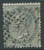 1863-65 REGNO USATO EFFIGIE 5 CENT - U42 - 1861-78 Vittorio Emanuele II