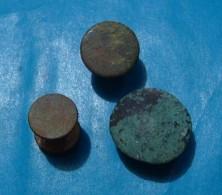 THREE GREEK BUTTONS III C.B.C. - Archéologie