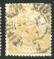 Ed 149 50c. Amarillo Usado - 1873-74 Regencia