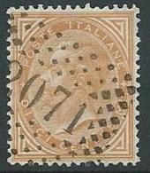 1863-65 REGNO USATO EFFIGIE 10 CENT - U42-6 - 1861-78 Vittorio Emanuele II