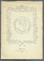 BARKER Leslie B. BELGIUM The Classic Issues And The Early Postal History,, London, 1963, 24 Pp.  Etat TTB - MO84 - Filatelie En Postgeschiedenis