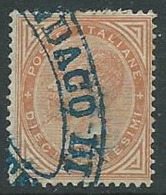 1863-65 REGNO USATO EFFIGIE 10 CENT - U46-5 - Usati
