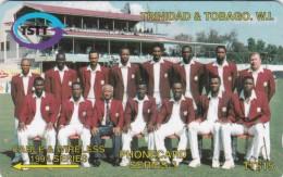 Trinidad & Tobago, 008CTTC, Team, Cricket,  2 Scans. - Trinidad & Tobago