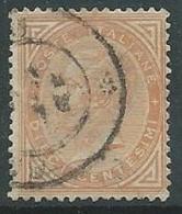 1863-65 REGNO USATO EFFIGIE 10 CENT - U46-7 - Usati