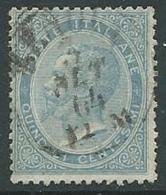 1863-65 REGNO USATO EFFIGIE 15 CENT - U42-4 - 1861-78 Vittorio Emanuele II