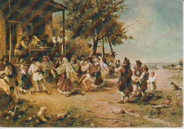 Romania - Theodor Aman - Hora De La Aninoasa - Ethnic Costumes - Europe
