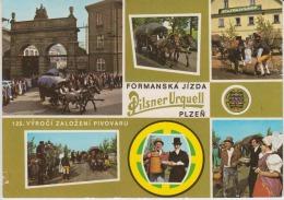 Plzen Formanska Jizda Pilsner Urquell Vyroci Zalozeni Pivovaru Costumes Traditions - Used,perfect Shape - Europe