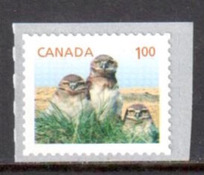 Canada - Chevêches ** - Roulette Horizontale - 2014 - Roulettes