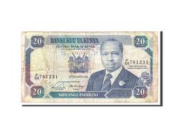 Kenya, 20 Shillings, 1988, 1988-12-12, KM:25a, B - Kenya
