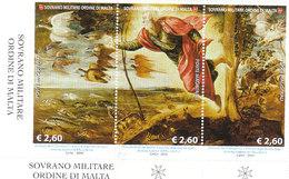 SMOM 2014 TINTORETTO CREAZIONE DEGLI ANIMALI - TRITTICO INTEGRO - Sovrano Militare Ordine Di Malta