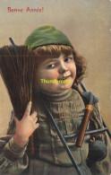 CPA FILLE RAMONEUR ** GIRL CHIMNEY SWEEPER  TRENCKLER SERIES 1153 4 - Mestieri