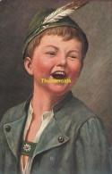 CPA  ILLUSTRATEUR GARCON BOY CHILD THEO STROEFER 1279 TSN NURNBERG COSTUME TYPE - Musées