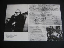 SERAVEZZA  1985   MOSTRA FILATELICA NUMISMATICA  VALDICASTELLO CARDUCCI - Manifestazioni
