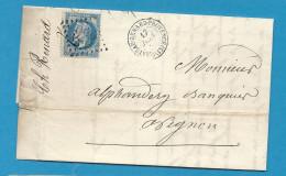 Bouches Du Rhone - Chateaurenard Pour Avignon (Vaucluse).GC + CàD Type 15 - 1849-1876: Période Classique