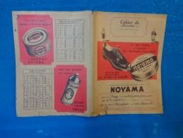 Lot De 2 Protege Cahier-  Condinent Savora-le Loup Et L´agneau- Perroquet-pate Noyama Pour Chaussures- - Publicité