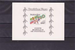 BURKINA FASO  EPREUVE DE LUXE CARTON - Coupe Du Monde