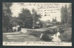 Forville. Pont De Seron. Attelage. Voyagée En 1902. Scan Recto/verso. - Fernelmont