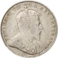 Canada, Edward VII, 10 Cents, 1902, Royal Canadian Mint, Ottawa, TB+ - Canada