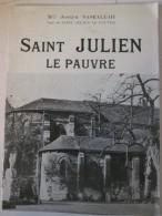 L Eglise De  Saint Julien Le Pauvre Paris  Square René-Viviani - Ile-de-France