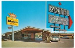 Rout 66, Motel Town House, Winslow Arizona, Lodging, Auto, C1960s Vintage Postcard - Route '66'