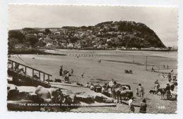 ENGLAND - AK 271993 Minehead - The Beach And Notrth Hill - Minehead