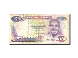 Zambie, 100 Kwacha, 1991, Undated, KM:34a, B - Zambie