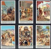 LIEBIG  - FR - Chromos N° 1 à 6  De La Série  S.1380 - GRANDES FIGURES HISTORIQUES DE L'AMERIQUE LATINE. - Liebig