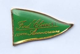 Pin's FORD CLASSIC 91 - 10° Anniversaire - Le Fanion Vert - Progexion -  F362 - Ford