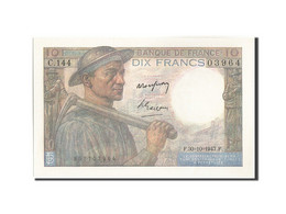 France, 10 Francs, 10 F 1941-1949 ''Mineur'', 1947, 1947-10-30, KM:99f, SPL+,... - 1871-1952 Frühe Francs Des 20. Jh.