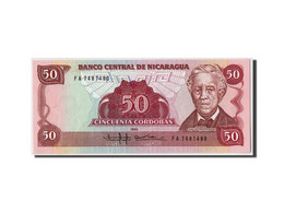 Nicaragua, 50 Cordobas, 1985 (1988), Undated, KM:153, NEUF - Nicaragua