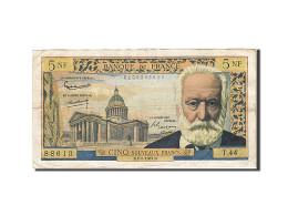 France, 5 Nouveaux Francs, 1959, 1961-02-02, KM:141a, TTB, Fayette:56.6 - 5 NF 1959-1965 ''Victor Hugo''