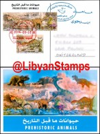 LIBYA - 2013 Dinosaurs Fossils Archaeology Nalut (TRAVELLED POSTCARD) - Prehistorics