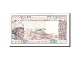 West African States, 5000 Francs, 1985, Undated, KM:708Kj, TTB - Sénégal
