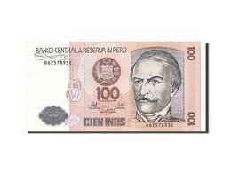 Pérou, 100 Intis, 1985-1991, 1987-06-26, KM:133, NEUF - Perú