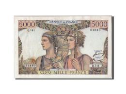 France, 5000 Francs Terre Et Mer, KM:131c, Fayette:48.10, 03-12-1953, TTB+ - 1871-1952 Gedurende De XXste In Omloop