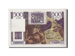 France, 500 Francs Chateaubriand, KM:129c, Fayette:34.10, 04-09-1952, SPL - 1871-1952 Circulated During XXth